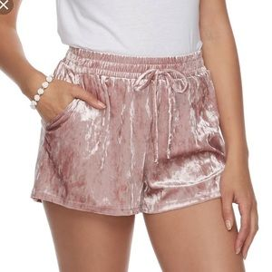 Blush Velvet Joe B Shorts #374